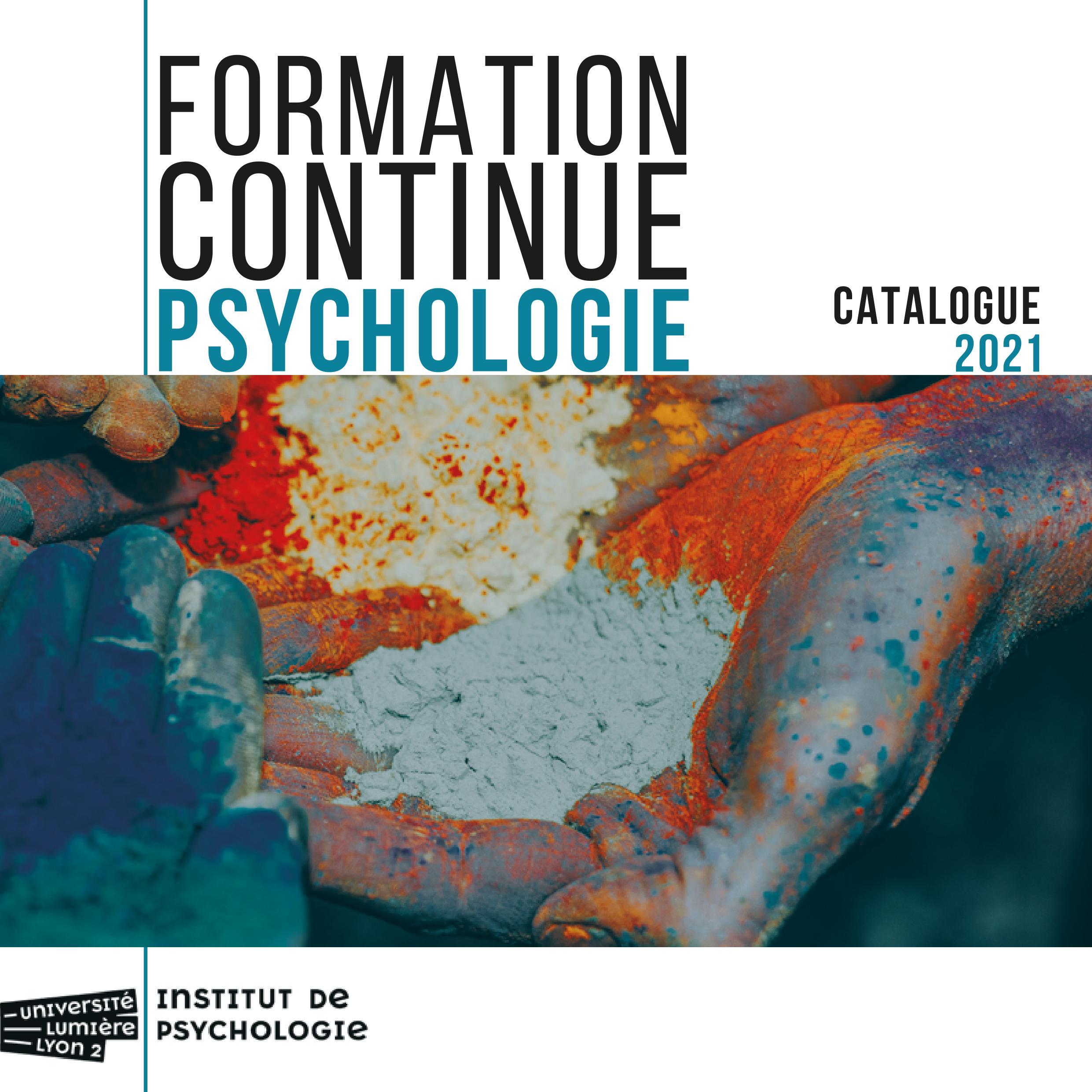 Couverture du catalogue 2021